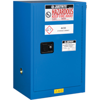 Chem-Cor® Lined Hazardous Material Compac Safety Cabinets SEL041 | Ontario Safety Product