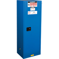Chem-Cor® Lined Hazardous Material Slimline Safety Cabinets SEL044 | Ontario Safety Product