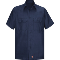 Men's Solid Rip Stop Shirt SEU271 | Ontario Safety Product