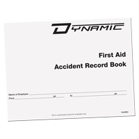 Accident Record Book SGA689 | Ontario Safety Product