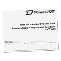 Accident Record Book SGA690 | Ontario Safety Product