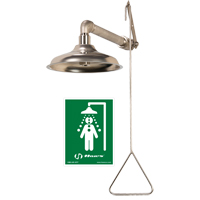 All Stainless Steel Drench Shower SGC281 | Ontario Safety Product