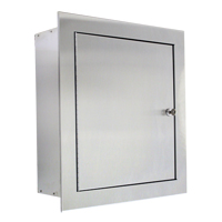 Recessed Stainless Steel Valve Cabinet SGC300 | Ontario Safety Product