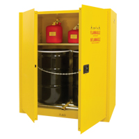 Vertical Drum Storage Cabinet SGC540 | Ontario Safety Product