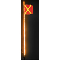 Heavy-Duty LED Whips SGF960 | Ontario Safety Product