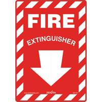 Fire Extinguisher Safety Sign SGI137 | Ontario Safety Product