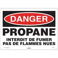 Danger Propane Safety Sign SGI138 | Ontario Safety Product