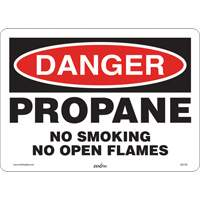 Danger Propane Safety Sign SGI139 | Ontario Safety Product