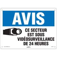 French Video Surveillance Safety Sign SGI146 | Ontario Safety Product
