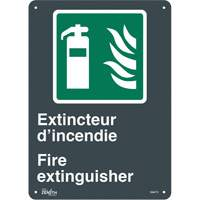 """Extincteur D'Incendie/Fire Extinguisher"" Pictogram Sign SGM770 