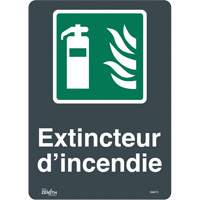"""Extincteur D'Incendie"" Pictogram Sign SGM772 