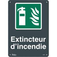 """Extincteur D'Incendie"" Pictogram Sign SGM774 