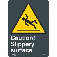 """Slippery Surface"" Pictogram Sign SGM784 
