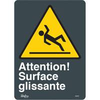 """Surface Glissante"" Pictogram Sign SGM787 