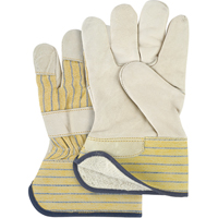 Grain Cowhide Fitters Cotton Fleece Lined Gloves SM610 | Ontario Safety Product