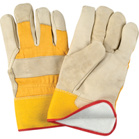 Grain Cowhide Fitters Foam Fleece Lined Gloves SDL891 | Ontario Safety Product