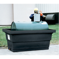 Poly-Tank® Containment Unit 275™ With Drain SEM162 | Ontario Safety Product