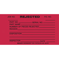Inspection Tags SX396 | Ontario Safety Product