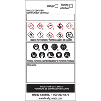 OTS WHMIS Labels SY083 | Ontario Safety Product