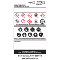 OTS WHMIS Labels SY084 | Ontario Safety Product