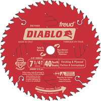 Contractor Saw Blades - Diablo<sup>®</sup> Finishing Saw Blades TEX006 | Ontario Safety Product