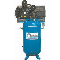 Industrial Series Air Compressors - 7.5 HP Vertical Compressors - Two Stage TFA051 | Ontario Safety Product