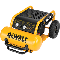 1.6 Continuous HP, 4.5-Gallon Electric Wheeled Portable Compressors TLV990 | Ontario Safety Product