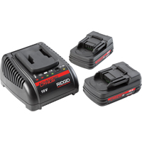 2.0Ah Batteries & 120V Charger TYB146 | Ontario Safety Product