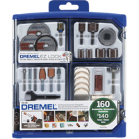 Dremel®160 Piece Accessory Set TYK594 | Ontario Safety Product