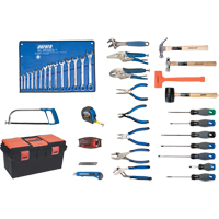 56-Piece Deluxe Tool Set with Plastic Tool Box TYP012 | Ontario Safety Product