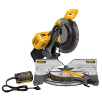 "120V FlexVolt™ 12"" Dual Bevel Mitre Saw With Adaptor TYW904 
