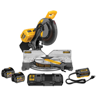 "120V FlexVolt™ 12"" Dual Bevel Mitre Saw Kit W/2 Batteries TYW905 