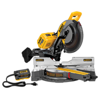 "120V FlexVolt™ 12"" Dual Bevel Sliding Mitre Saw With AC Adaptor TYW906 