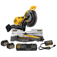 "120V FlexVolt™ 12"" Dual Bevel Sliding Mitre Saw W/ 2 Batteries TYW907 