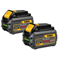 20V/60V FlexVolt Battery, Dual Pack TYW913 | Ontario Safety Product