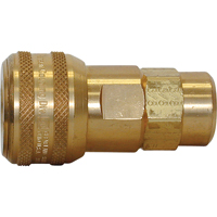 "Quick Couplers - 1/2"" Industrial, One Way Shut-Off - Automatic Couplers TZ165 