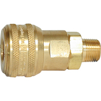 "Quick Couplers - 1/2"" Industrial, One Way Shut-Off - Automatic Couplers TZ169 