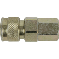 "1/2"" MAN COUPLER 3/8""FTHREAD 500 PSI TZ174 