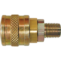"Quick Couplers - 1/4"" Industrial, One Way Shut-Off - Automatic Couplers TZ227 