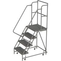 Deep Top Step Rolling Ladder VC764 | Ontario Safety Product
