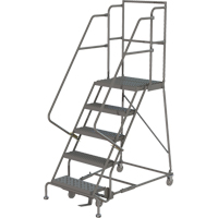 Deep Top Step Rolling Ladder VC766 | Ontario Safety Product