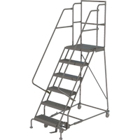 Deep Top Step Rolling Ladder VC768 | Ontario Safety Product