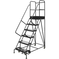 Deep Top Step Rolling Ladder VC769 | Ontario Safety Product