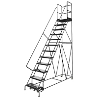 Deep Top Step Rolling Ladder VC770 | Ontario Safety Product