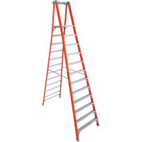 Industrial Heavy-Duty Fibreglass Pro Platform Stepladders (FXP1700 Series) VD412 | Ontario Safety Product
