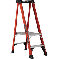 Industrial Extra Heavy-Duty Fibreglass Pro Platform Stepladders (FXP1800 Series) VD413 | Ontario Safety Product