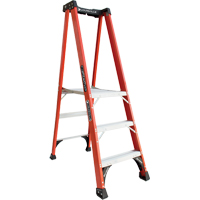Industrial Extra Heavy-Duty Fibreglass Pro Platform Stepladders (FXP1800 Series) VD414 | Ontario Safety Product