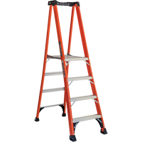 Industrial Extra Heavy-Duty Fibreglass Pro Platform Stepladders (FXP1800 Series) VD415 | Ontario Safety Product