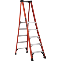 Industrial Extra Heavy-Duty Fibreglass Pro Platform Stepladders (FXP1800 Series) VD416 | Ontario Safety Product