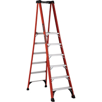 Industrial Extra Heavy-Duty Fibreglass Pro Platform Stepladders (FXP1800 Series) VD417 | Ontario Safety Product